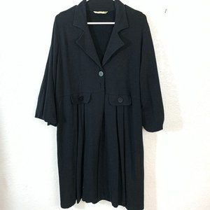 Chalet  Black Knit Duster.XL